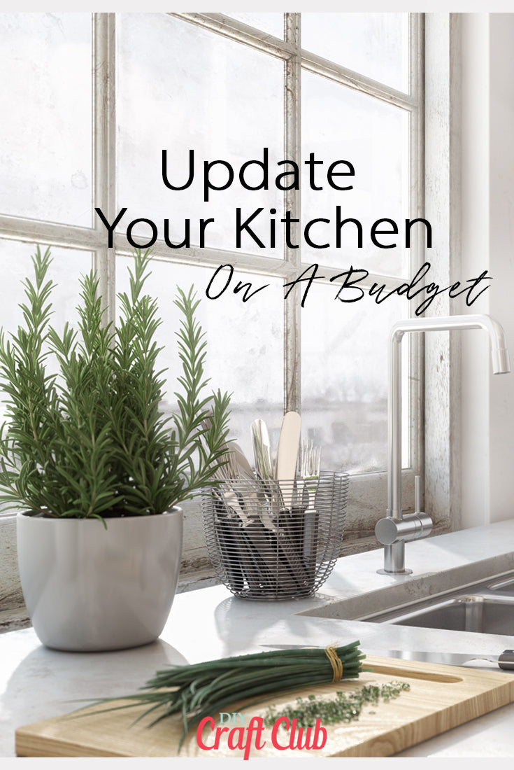 Update your kitchen without doing a reno affordably