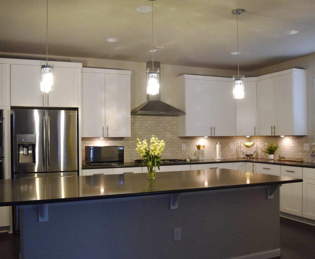 Update your kitchen lighting on a budget