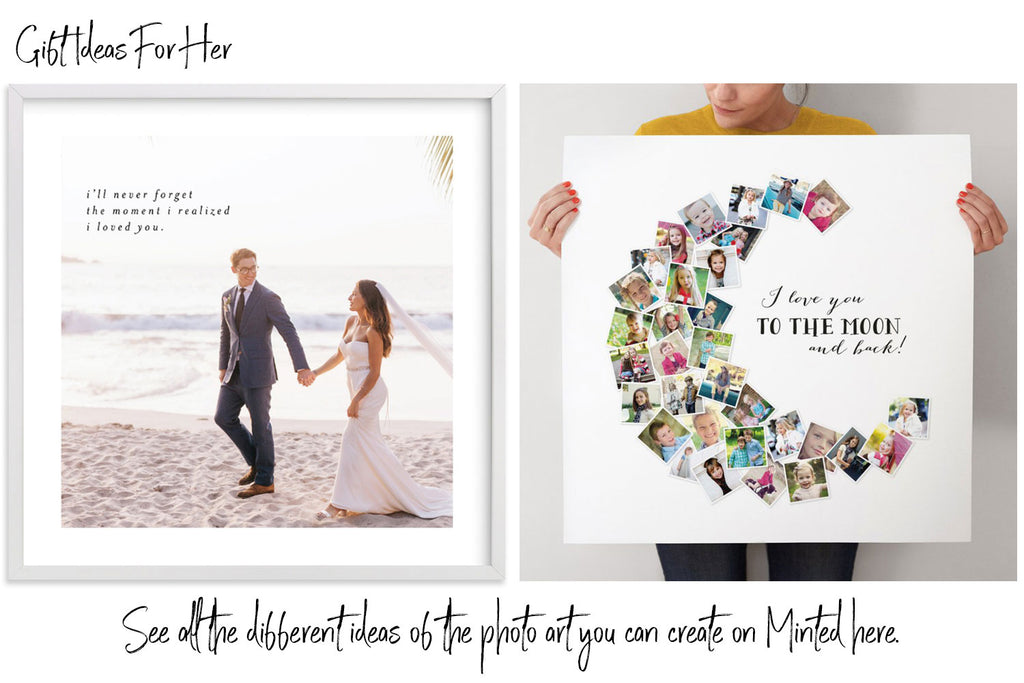 Valentine's Day Gift Idea For Her From Minted