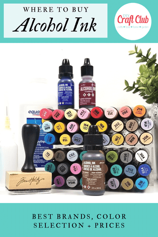 Where to get alcohol ink from