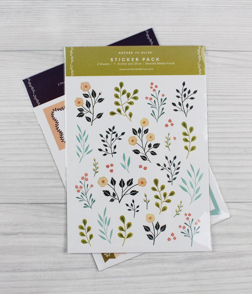 archer and olive stickers for planners