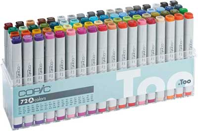 best alcohol markers copic
