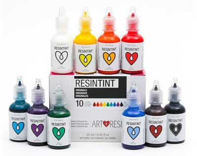 best colorants for resin