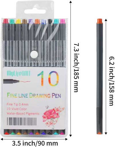 best fineliners for writing