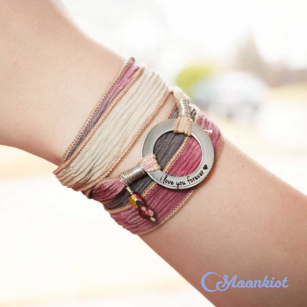 best jewelry sellers on etsy silk wrapped bracelets
