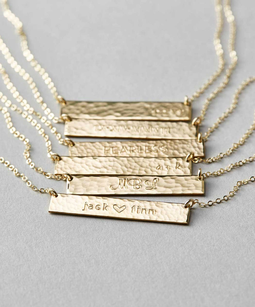 best jewelry shops on etsy layered and long