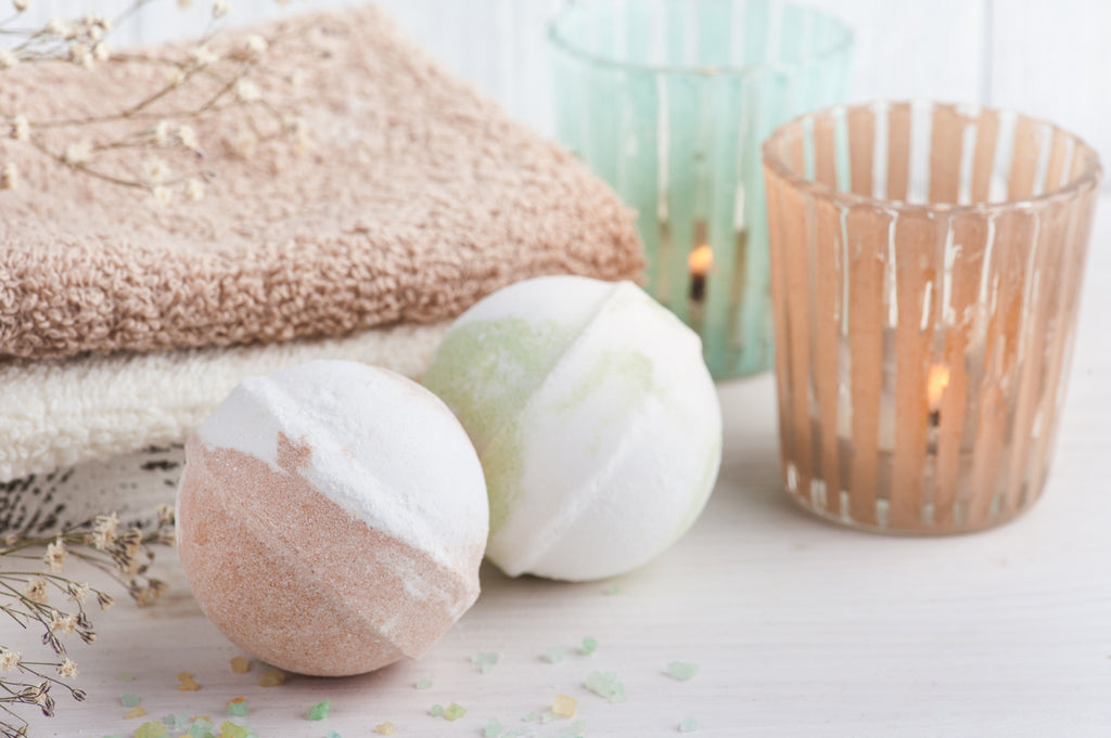 best bath bomb recipe - how to make a basic bath bomb