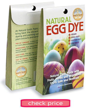 Best Easter egg dye kits natural dyes