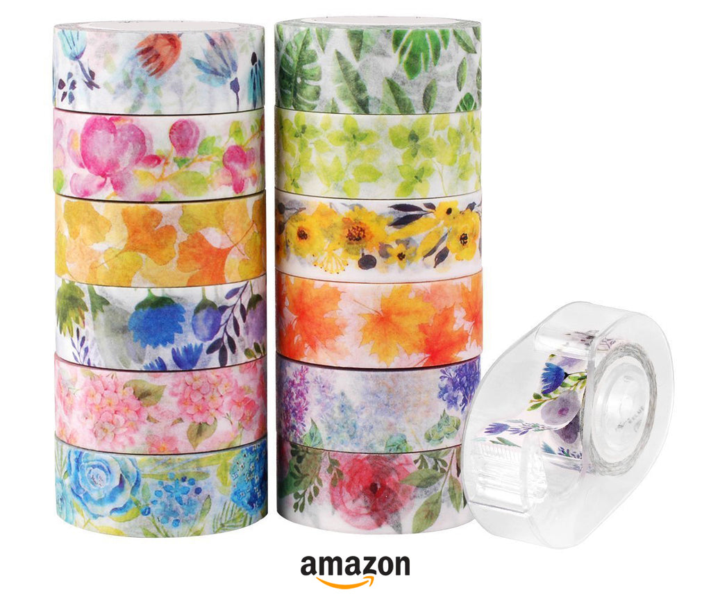 best floral washi tape to try