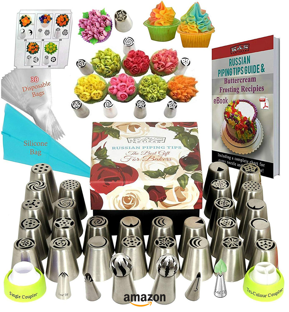 bakers gift guide Russian piping tips