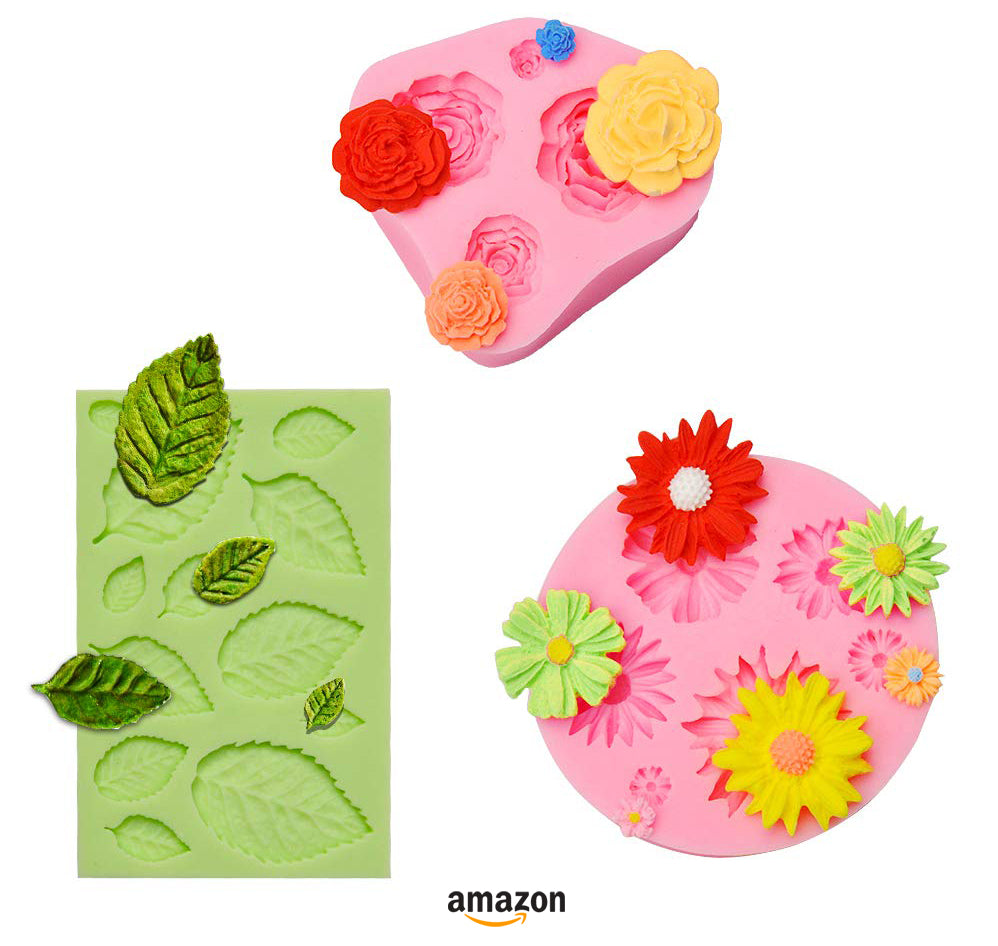 best gift ideas for soapmakers silicone flower molds