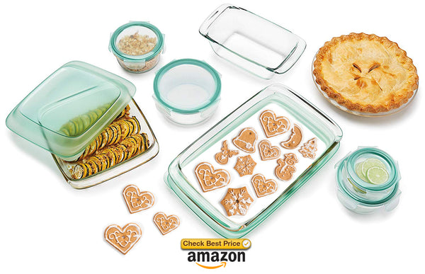 best storage containers glass for baking