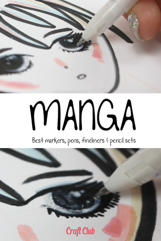 best markers for anime and manga art