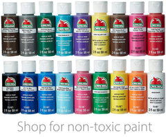 Non toxic paint for rock painting