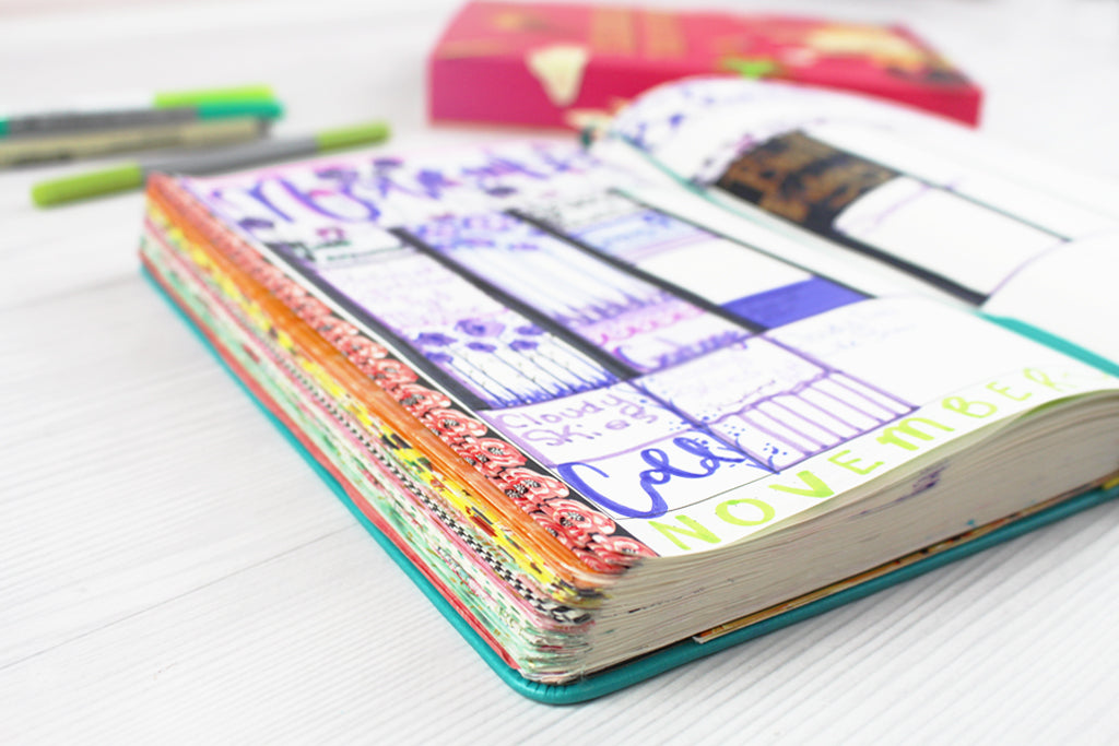 Best planners for gift ideas Scribbles That Matter B5 Bullet Planner