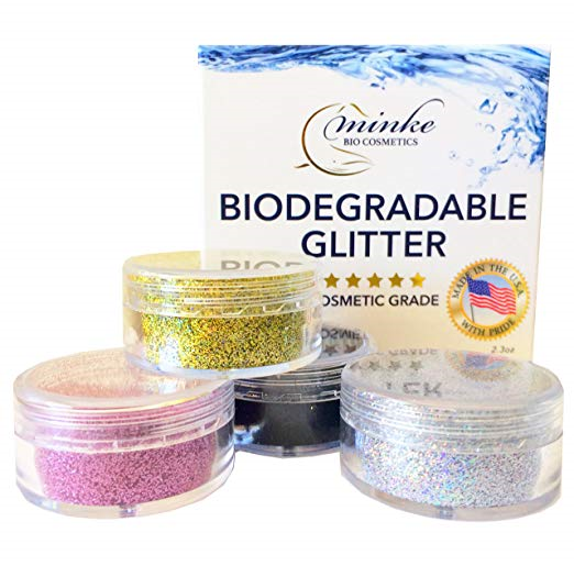 Biodegradable  eco friendly glitter