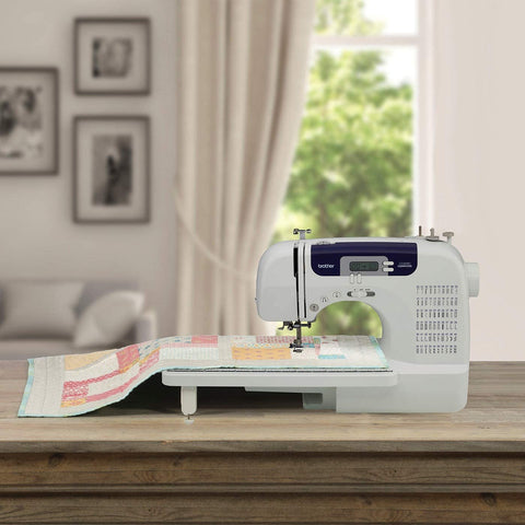 BROTHER Sewing & Quilting Machine CS6000i MINI REVIEW & Tips