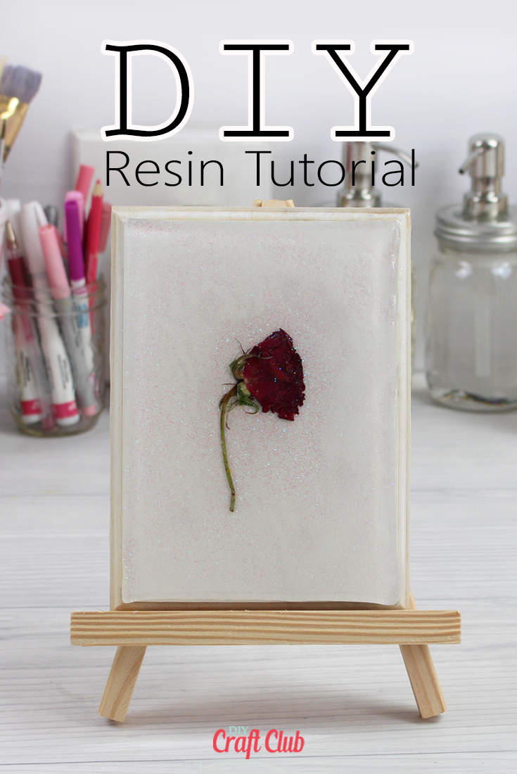 how to cast dried flowers into epoxy resin tutorial