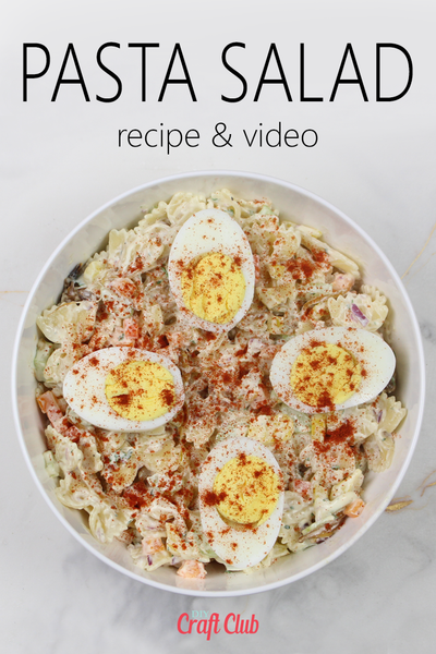 best pasta salad recipe with video