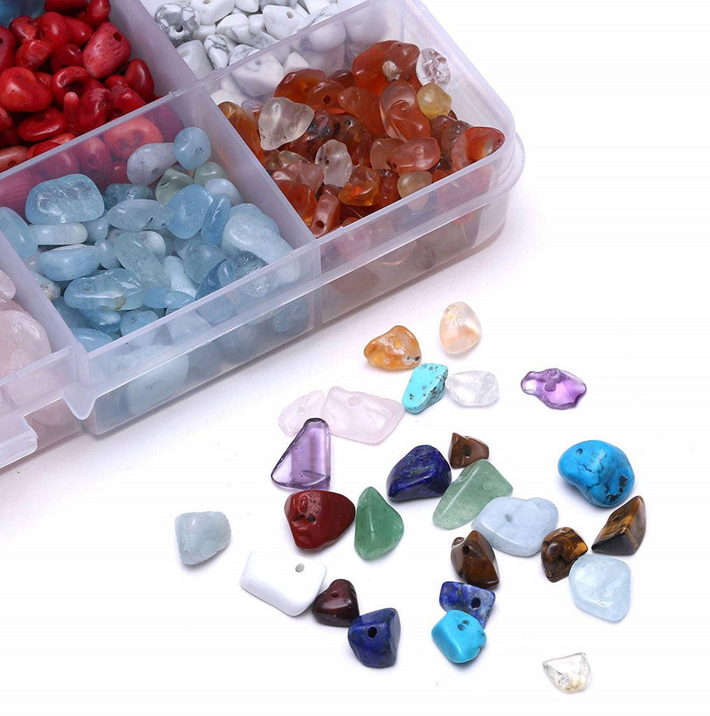 Gemstone kit for geode resin art, ful of stones and gems to can add to your geode