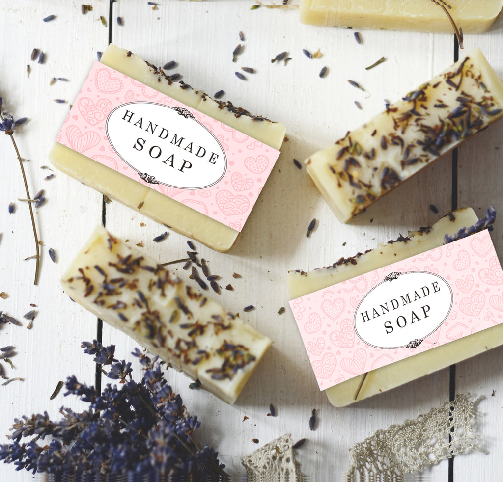 labels for handmade soap digital download