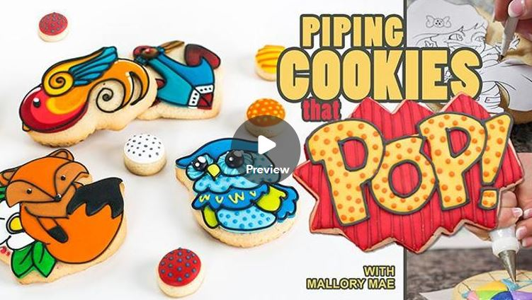 how to decorate flooding cookies tutorial