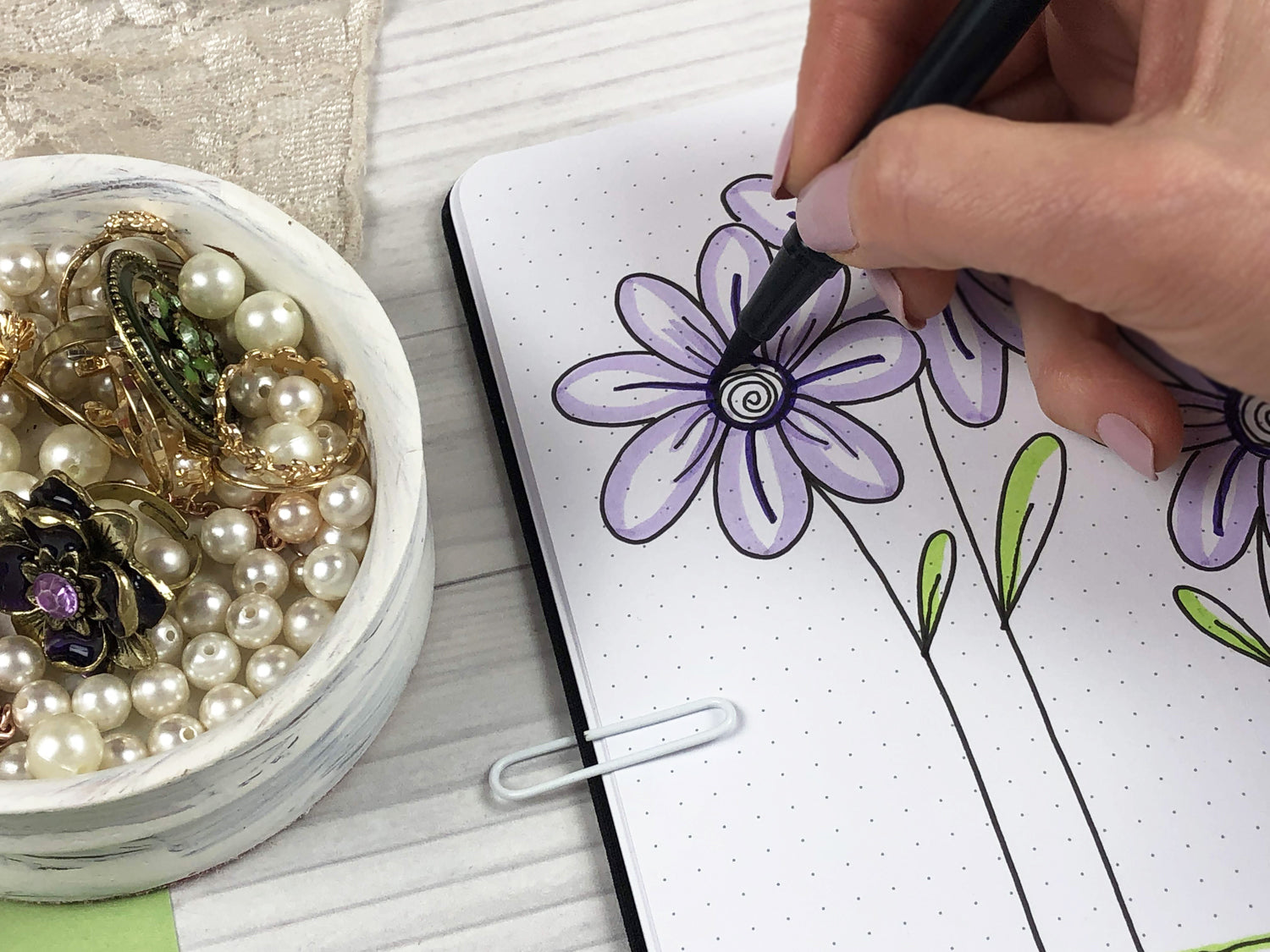 drawing tutorials how to draw flowers