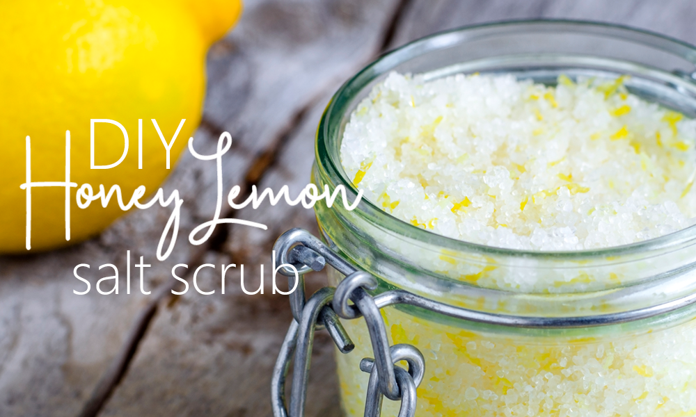 How to make a salt scrub