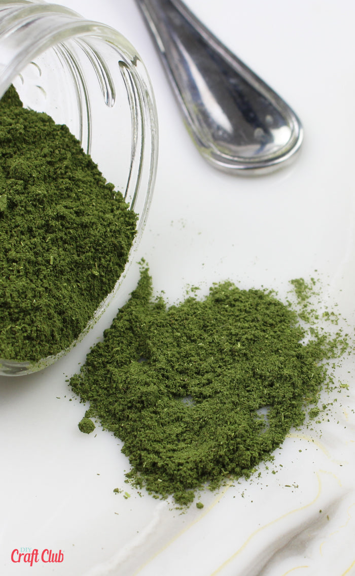 how to make mint powder