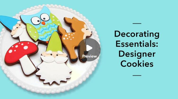 how to make sugar cookies and flood them with royal icing