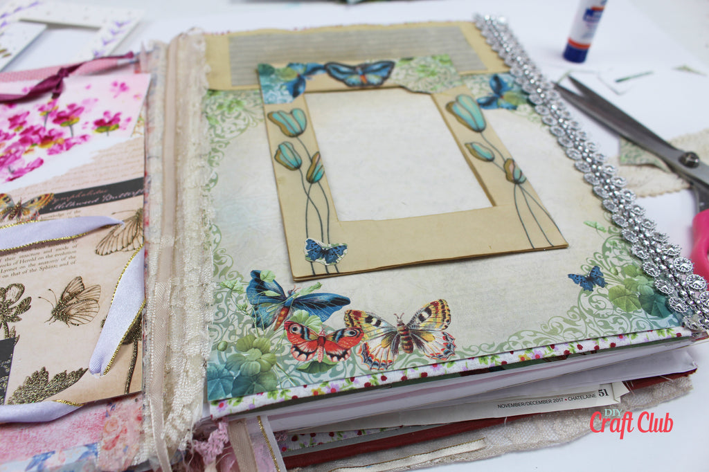 junk journal page ideas