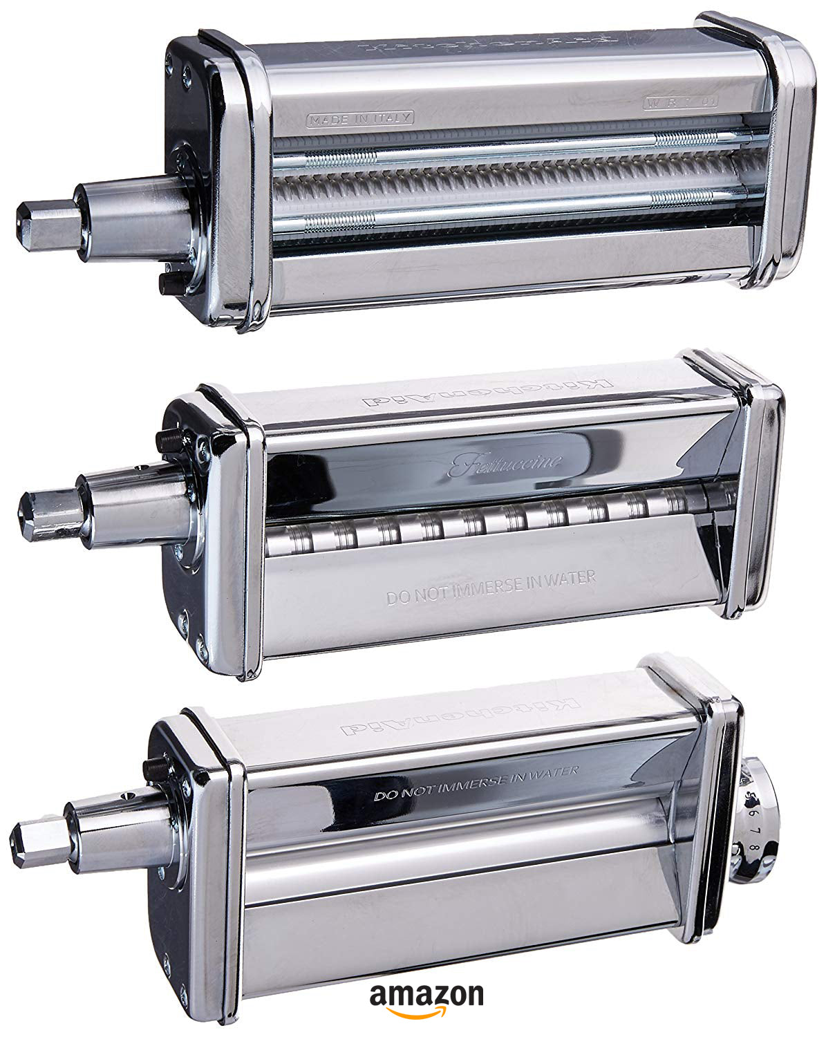 KitchenAid pasta Pasta Roller and cutter for Spaghetti and Fettuccine