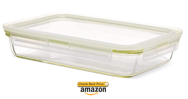 large glass storage containers for baking
