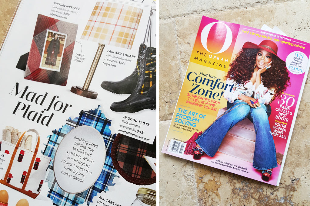 Oprah magazine feature