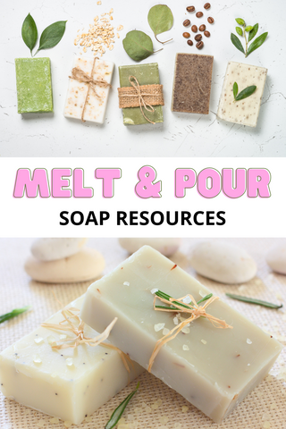 best melt and pour soap books
