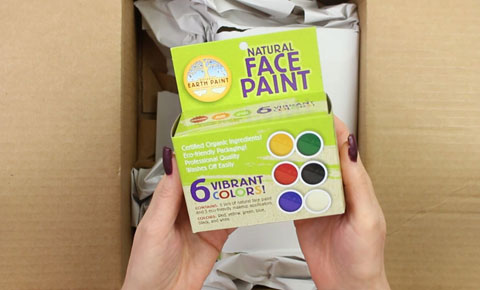 natural earth face paints