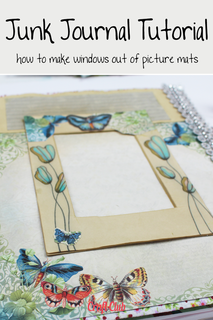 page ideas for junk journals with video tutorial