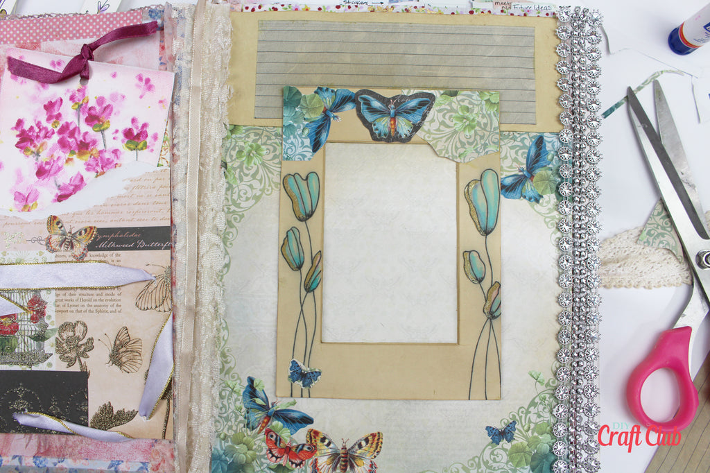 page ideas for junk journal