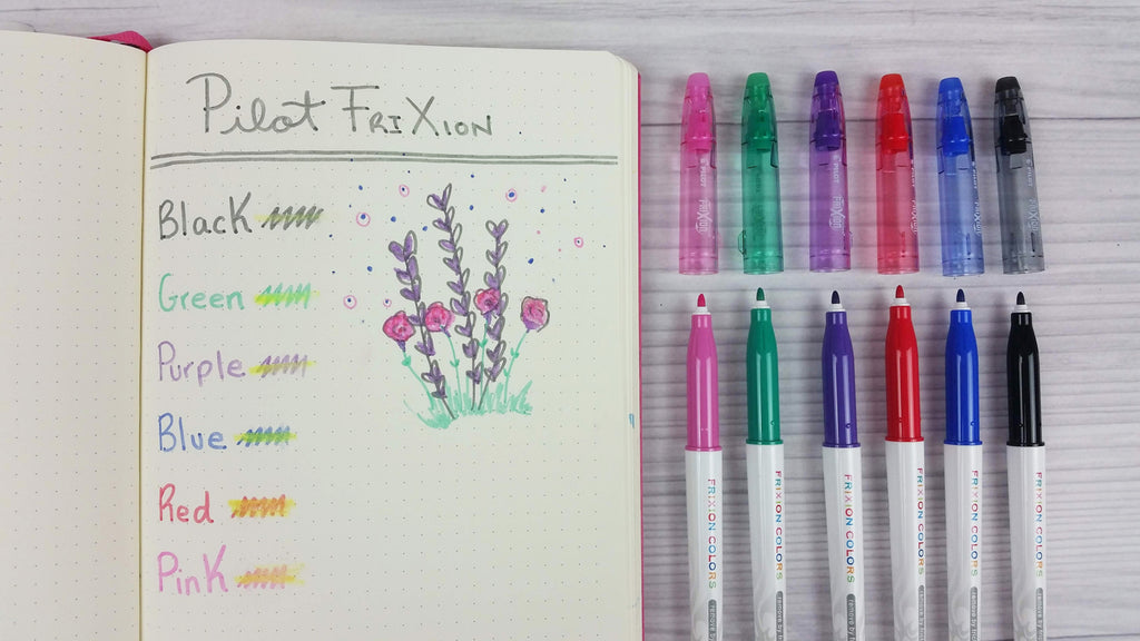 Pilot Frixion Erasable marker review - do they work?