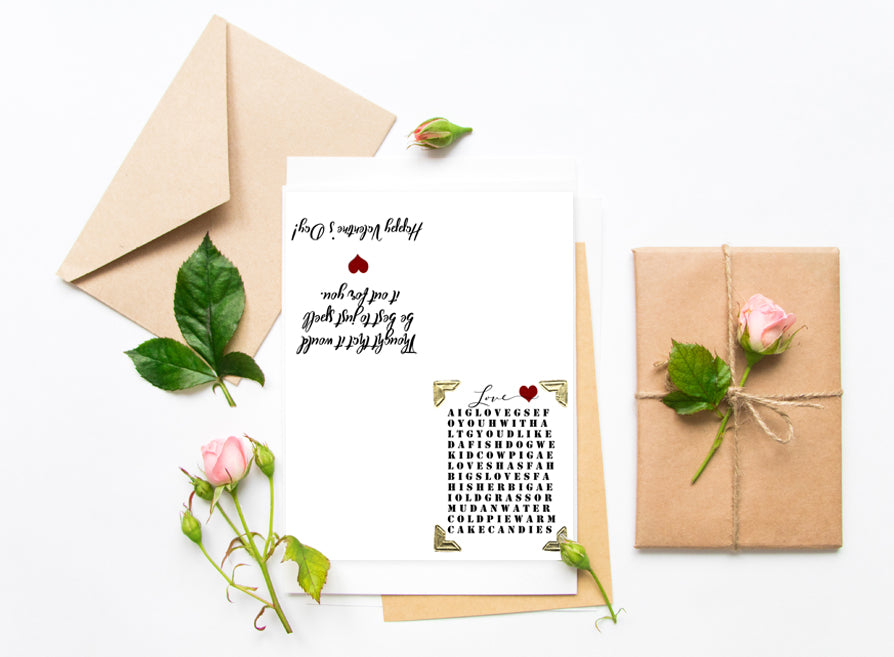 Instant download Valentine's Day Card Printable