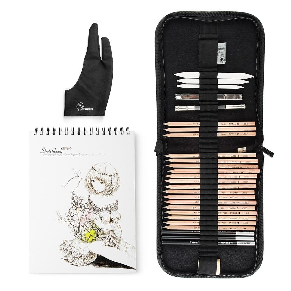 professional manga pencil set