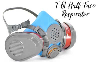best half face respirator for resin safety