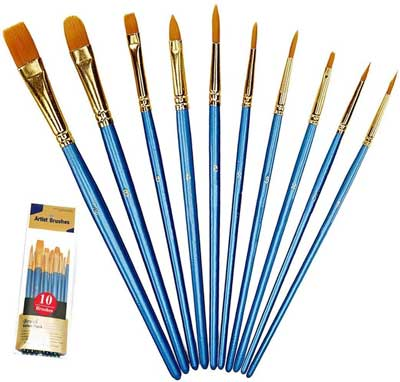 best rock painting supplies paint brushes