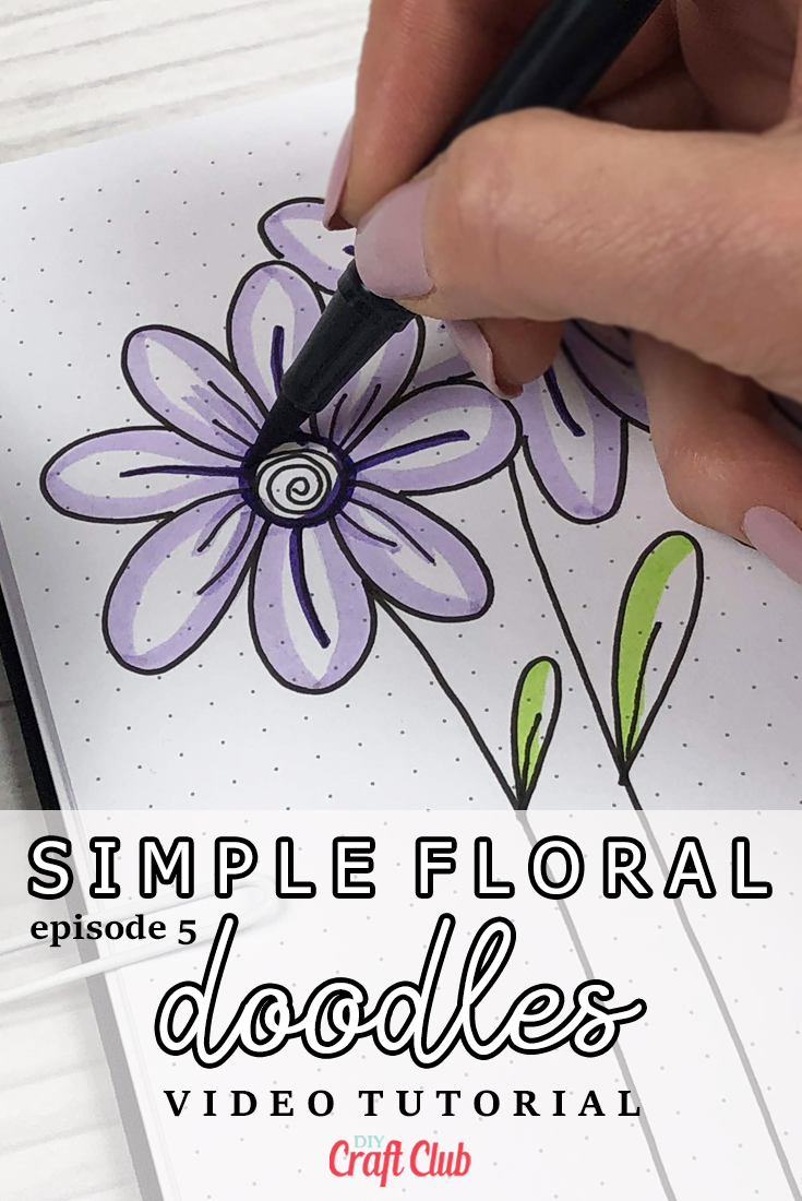 simple floral doodle ideas tutorials and videos
