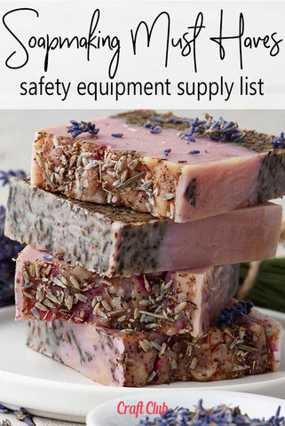 soapmaking safety equipment