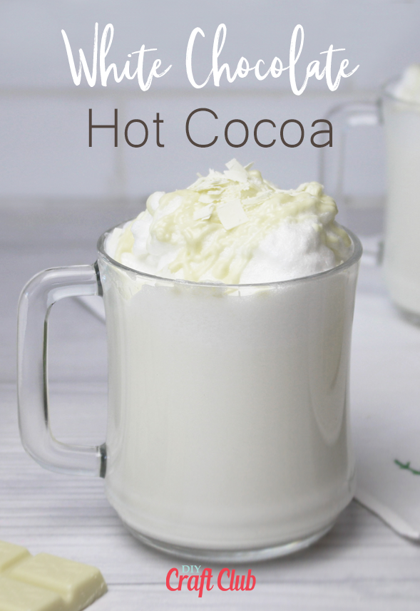 white chocolate hot cocoa recipe