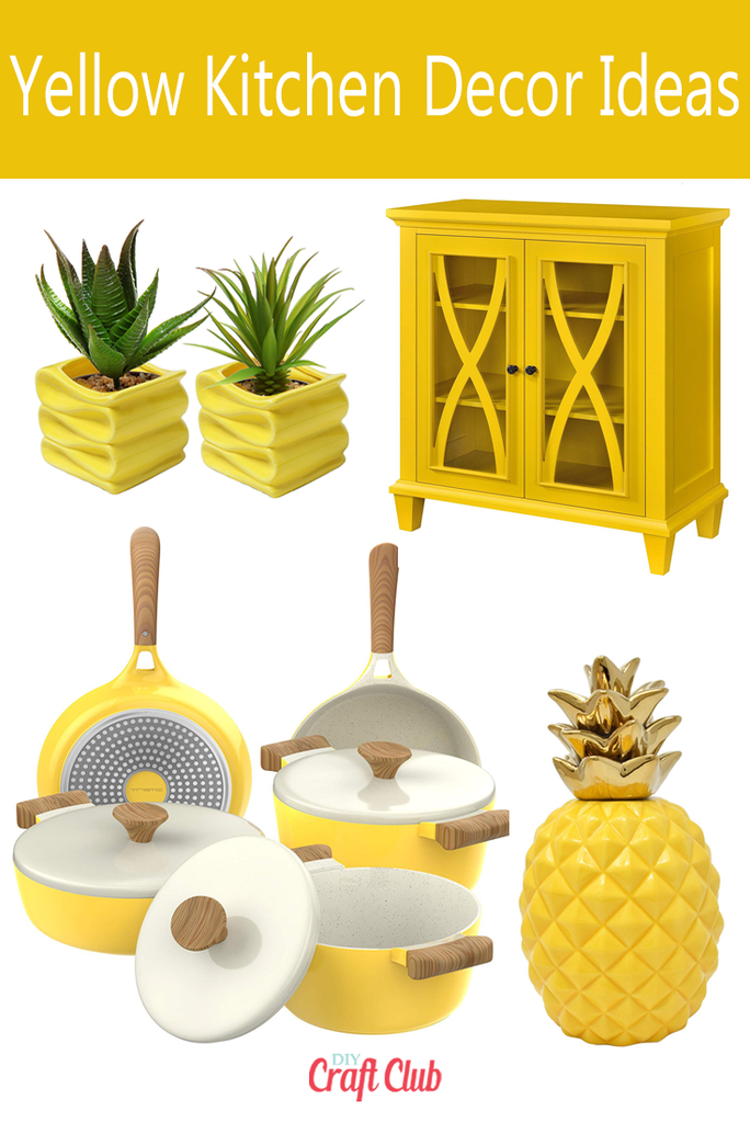 yellow kitchen decor ideas