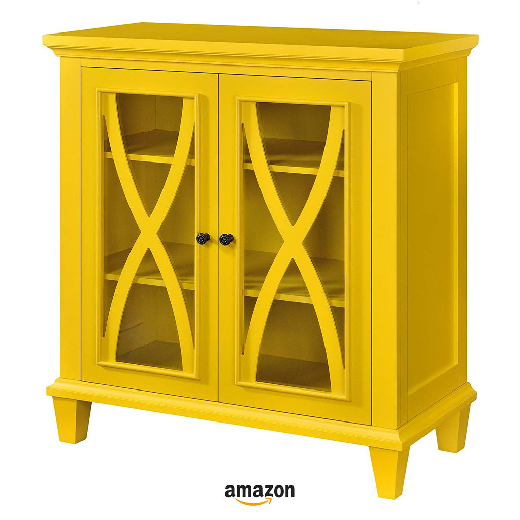 yellow kitchen decor ideas cabinet