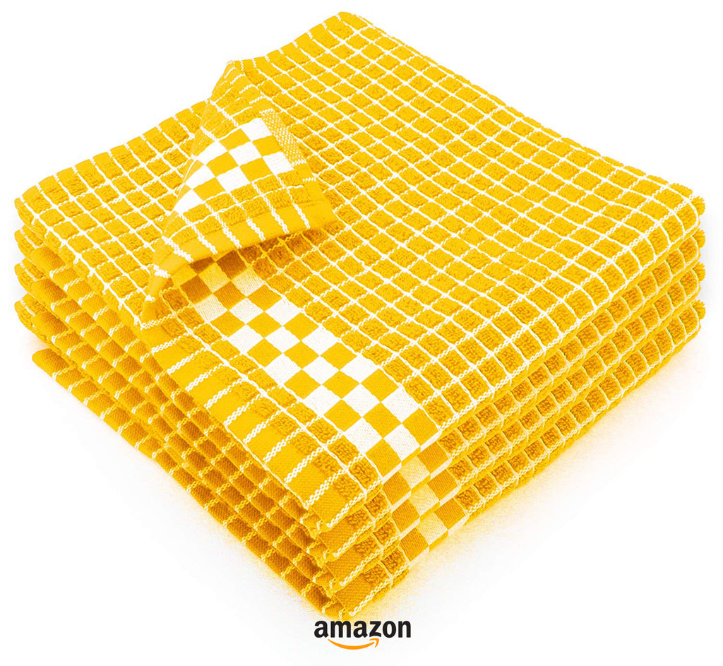 yellow kitchen decor ideas dish towels