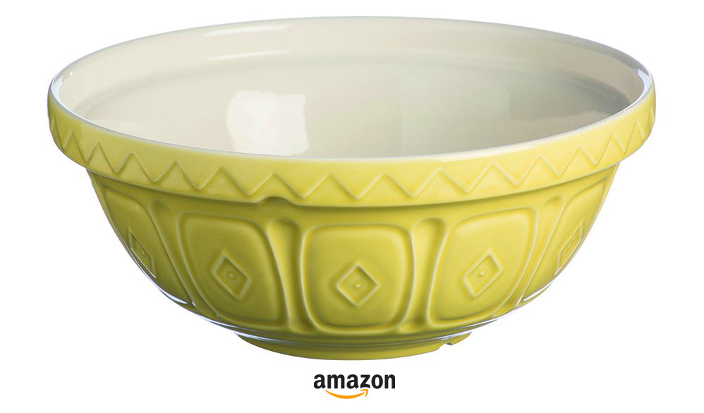 yellow kitchen decor ideas yellow mixing bowl